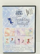 My Craft Studio Elite CD Twinkling Twilight Faeries Fairy Paper Design