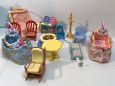 Lot Of Fisher Price Dollhouse Furniture Mixed 1 Baby