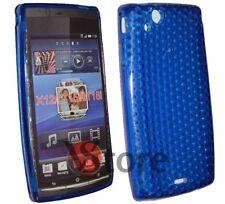 Cover Custodia Per Sony Ericsson Xperia Arc S e X12 GEL TPU Blu