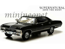 GREENLIGHT 19001 SUPERNATURAL 1967 67 CHEVROLET IMPALA SPORT SEDAN 1/18 BLACK