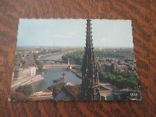 carte postale paris la fleche de notre-dame