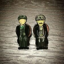 BBC Drama Peaky Blinders Shelby Brothers Pin Badge Set, A Guy Called Minty.