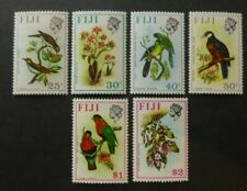 Fiji 1971-1972  Birds & Flowers Complete Set (MNH)