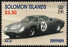 1965 FERRARI 250 LM (Le Mans) #21 Sports Motor Racing Car Stamp