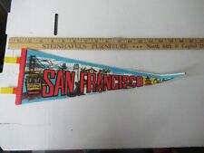 San Francisco California pennant vintage