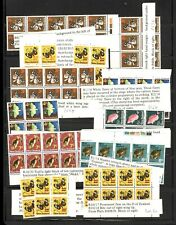 New Zealand, Excellent assortment of Mint Nh Stamps