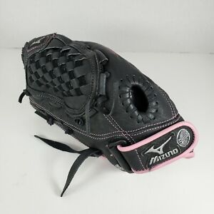 "Mizuno GPP1153 ""Finch"" Pink/Black Softball Youth Glove 11.5"" Inch Left Hand LHT"