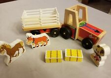 Disney Melissa & Doug Mickey Mouse Clubhouse On The Farm Wooden Tractor Play Set