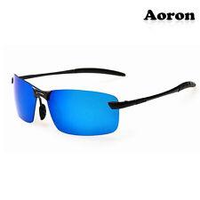 2018 Mens Mirrored Driving Glasses HD Polarized Sunglasses UV400 Sports Eyewear