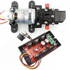 4L/Min Diaphragm Water Self Priming Pump + PWM DC Motor Speed Controller HHO RC