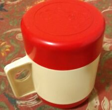 Vintage Thermo Cup Travel Mug USSR Olympic Games Moscow 1980