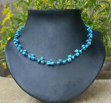 *Freedom Tree* Turquoise Gemstone Necklace Hand Made Chakra /Healing