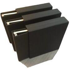Stanley Gibbons Devon Album Black Leather Slipcase And 50 Leaves