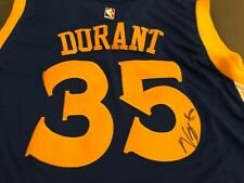 Kevin Durant Signed Warriors Jersey Autograph AUTO