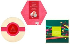 Christmas Turkish Delight Rose & Lemon, Pomegranate Traditional Sweets Chewy