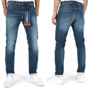 Diesel Mens Slim Fit Jogg Jeans Stretch Sweat Pants Blue | Thommer-T R78JA