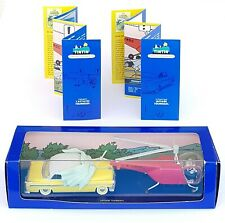 Cars Car Tintin Atlas N°47 & N°48 Massah Yellow & Helicopter Box COA