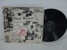 CHET BAKER Sings And Plays With Bud Shank 1955 DG MONO US Pacific Jazz PJ-1202