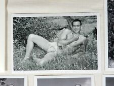 Western Photography Guild, Male Nude Set, Various Posing Strap Era Models #6