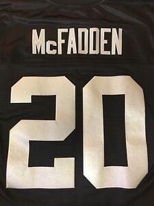 Oakland Raiders Authentic Darren McFadden Jersey (Black & Silver) SZ XL