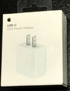 Apple 20W USB-C Fast Charge Power Adapter for iPad Pro 3rd gen,iPhone 12/11
