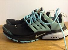 Nike Air Presto Trainers, Black & Blue/ Turquoise, UK 5