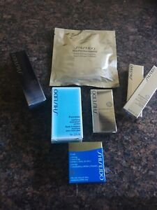 Shiseido Travel/Sample Lot Of 7 Products NEW