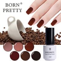 5ml BORN PRETTY Nagellack Gellack UV Gel Soak Off Kaffee Serie Dauerhaft