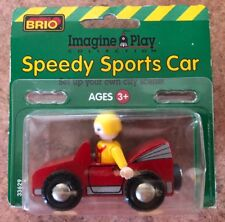 33629 BRIO Wooden Train Speedy Sports Car! New! Thomas