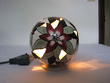2002 Blue Sky Clayworks by Heather Goldminc Cl20121 Poinsettia lamp