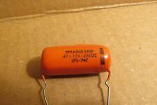 Sprague 220P Capacitor ,47-10%-200Dc new