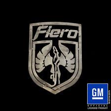 Speedcult / New Item / Fiero Logo / Metal Sign / Gmfer04
