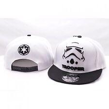 Star Wars Stormtrooper Weiss Baseball Hip Hop Cap Kappe Mütze Sommer Snapback