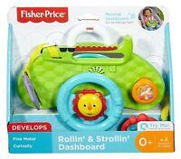 Fisher Price Rollin & Strollin Dashboard Car Seat & Stroller Activity Toy