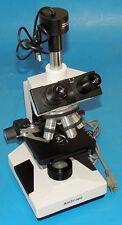 AmScope Trinocular Microscope 5X-100X Lens USB Camera Eyepiece Stage Illuminator