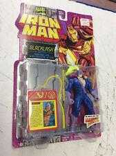 1994 Marvel Comics ToyBiz Iron Man Backlash Action Figure NEW! Shelf Wear!