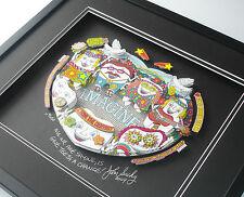 "IMAGINE! ""Give Teeth A Chance"" John Suchy 3D POP ART DENTAL theme Lennon-Beatles"