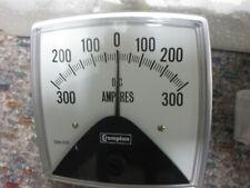 Crompton Analog Panel Meter 300 0 300 Dc Amperes