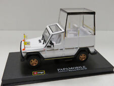 BURAGO 1:43 AUTO IN METALLO E PLASTICA  MERCEDES BENZ 230 GE PAPAMOBILE 18-31018