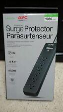 New APC PE615 6-Outlet SurgeArrest Essential Series Surge Protector (15ft Cord)
