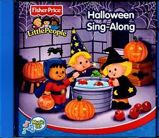NEW CD // FISHER- PRICE // HALLOWEEN SING - A - LONG //  LITTLE PEOPLE -17 TRACK