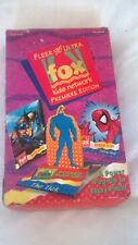 FOX KIDS NETWORK (ANIMATED) COLLECTABLE TRADING CARDS- BOX OF 36- THE TICK ETC.