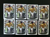 2013 Bowman Scooter Gennett # 27 Rookie Lot (8) Brewers RC