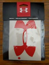 Under Armour 6 Inch Decal - Red - UDE1203 - New In Package!