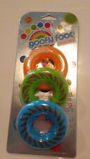 Goofy Foots Designs Brand Orange Green Blue 3 pack Ages 3+