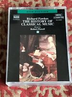richard fawkes - the history of classical music ! read by robert powell .4 cass