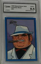 1993 SPEED RACER GOLD CRUNCHER BLOCK #51 NM-MT+ 8.5 BY GMA GREAT LOOKING CARD