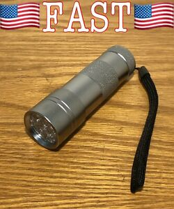 Ultraviolet Flashlight Pet Urine & Stains Detector Scorpion Hunting Light 12 LED