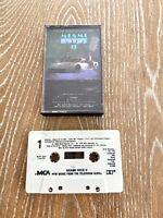 Miami Vice II Audio Cassette Tape 1986 MCA Records Soundtrack