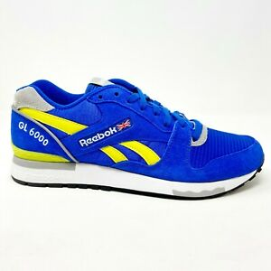 Reebok Classic GL 6000 Glue Yellow Mens Retro Sneakers J98339